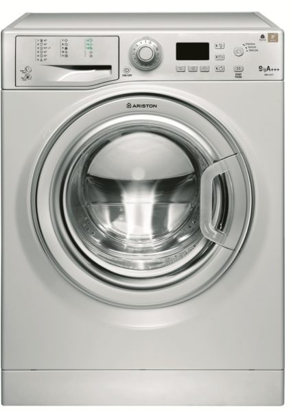 Ariston Front Load Washing Machine 9 Kg Silver WMG9437SEX