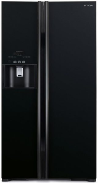 Hitachi Side By Side Refrigerator RS700GPUK2GBK