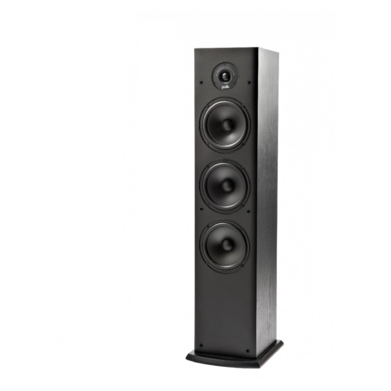 Polk Audio T50 Floor Standing Speaker Black Sold As Single Unit Only