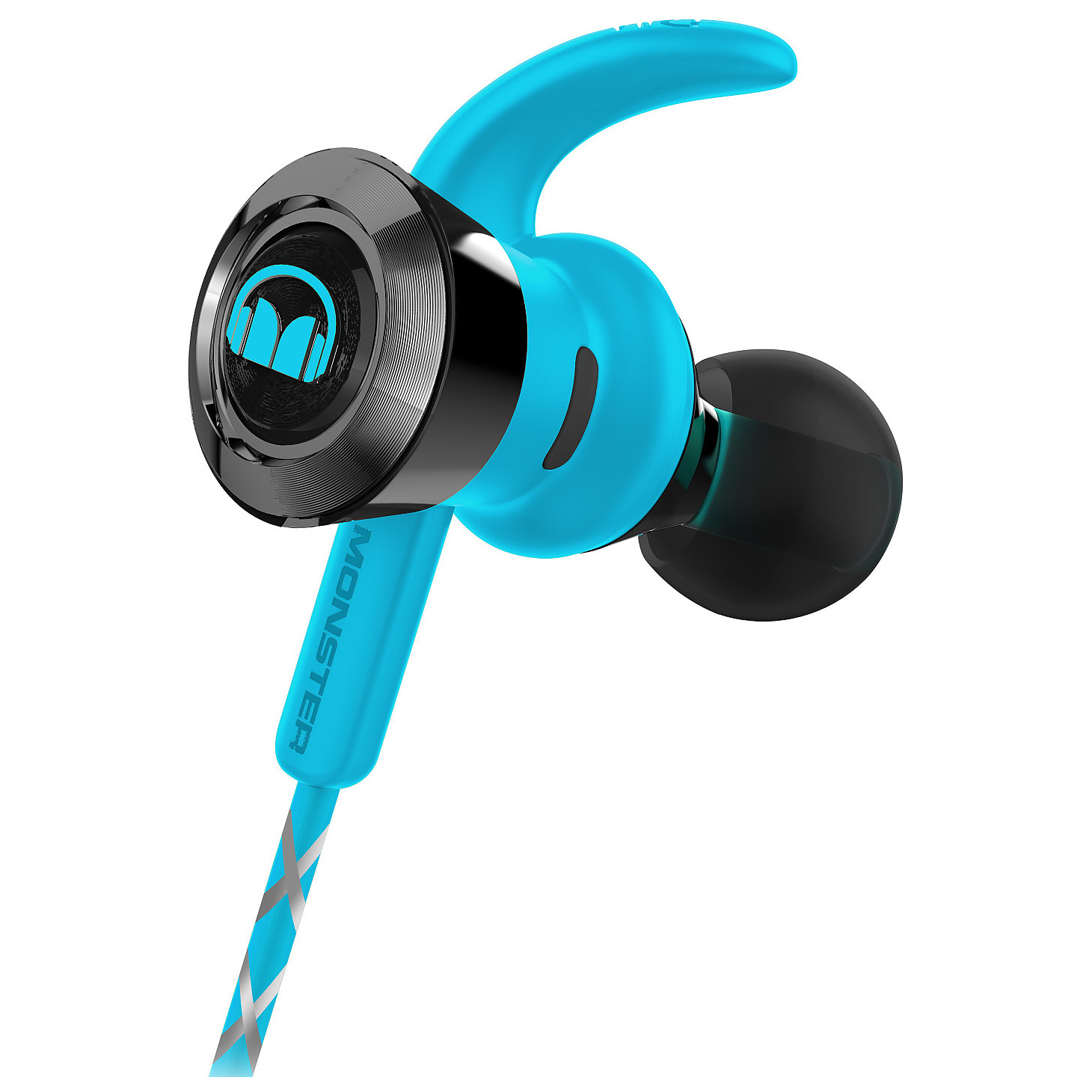 Monster Isport Achieve In Ear Bluetooth Sport Headphone Black 137089 Universal Headset Earphone 41 Wireless Branded Victory Headphones Blue 137086 00